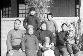 Rev. Wang Wan Chu and family