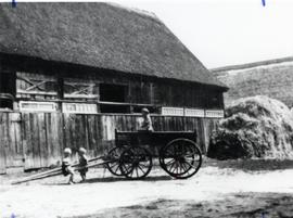 Milkwagon of W. Wiebe