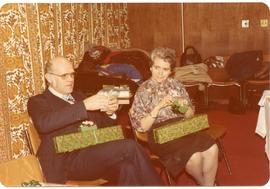 Edith and Alf Dick at Christmas