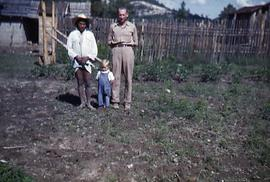 Henry with Mexican farmer
