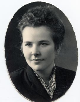 Elsie Braun (later a Mrs. Bunte)