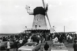 Opening of the Windmill at the Mennonite Village Museum