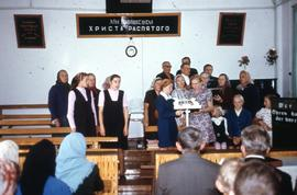 A woman's choir in Uzun-Agatch