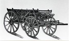 Mennonite box wagon