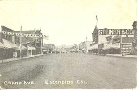 Grand Avenue in Escondido, California