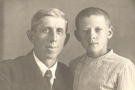 B.B. Janz and son in Canada