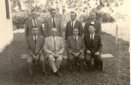 Presidency of the South American Conference of Mennonite Brethren Churches, March 1960