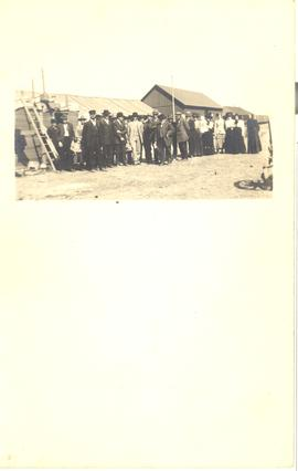 Group of Mennonites in Chinook, Montana