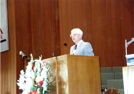 Herb Brandt Speaking at the 1990 General Conference of MB Churches