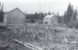 Farm of Isaak Voth, Vanderhoof, B.C., 1918
