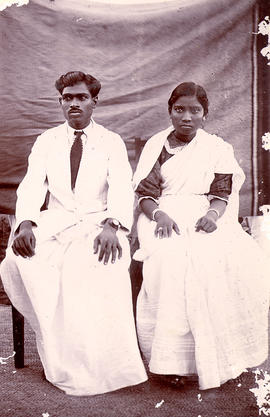 S. George and his wife