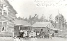 Home of P. H. Neufeld, Vanderhoof, B.C., 1918