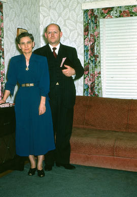 Barbara and Henry R. Wiens, during time that he was pastor of Reedley Mennonite Brethren Church