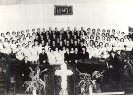 Reedley Mennonite Brethren Church Choir, ca. 1937-1946