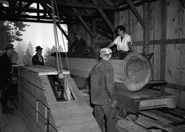 Sawmill at Civilian Public Service Camp #31