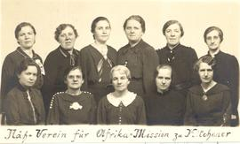 Women's Missionary Society for Africa, Kitchener, Ont.