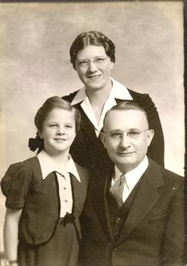 David and Marie Hooge with their daughter Joanna Marie