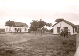 School house and teacherage in Wiesenfeld, Fernheim
