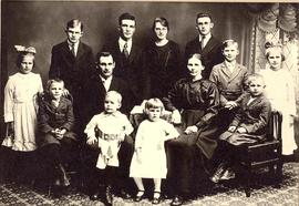 N.N. and Susie Hiebert with their children