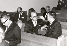 Canadian delegates at the 1966 MB General Conference in Corn.