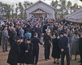 Southern District Conference of Mennonite Brethren Churches in Fairview, Oklahoma, 1947