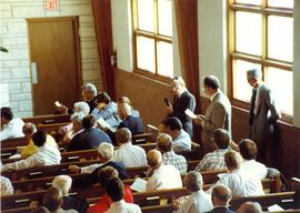 Delegates at the 1990  General Conference of MB Churches convention