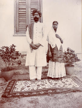 A Muslim couple in India