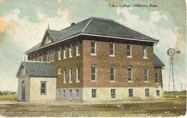 Original Tabor College administration building