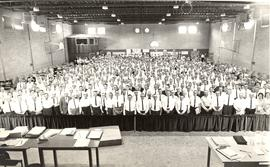 Delegates at the 1963 General Conference of Mennonite Brethren Churches convention