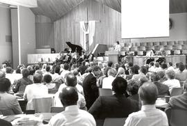 Session of the 1990 General Conference of MB Churches convention