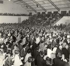 1972 Mennonite World Conference session in the Pinheiros sports arena