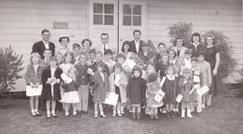 Sunday school students, Bethany Mennonite Brethren Church