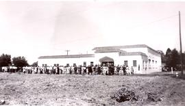 Dedication of Bethany Mennonite Brethren Church building on Orchard Avenue, June 16, 1946