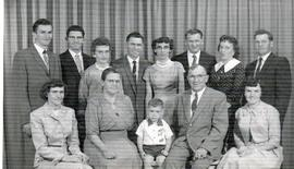 Peter & Elizaeth Penner family
