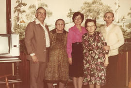 Ed & Edith Regehr with Barbara Schultz and Peter & Luise Becker