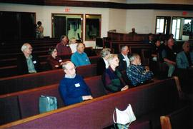 AGM meeting at First Mennonite Church, Edmonton, AB