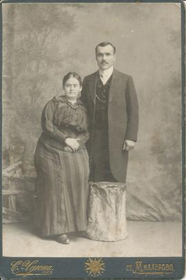 Jacob Peter and Helena (Dyck) Riediger