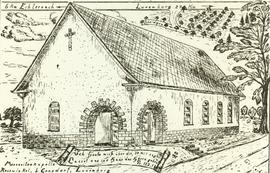 Artist's rendition of Mennonite Church building