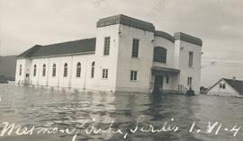 Church flooded in 1948