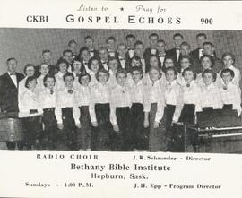 Bethany Bible Institute choir