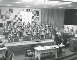 Youth choir participation in one of the sessions