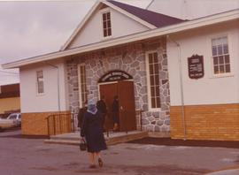 Exterior view of Clearbrook Mannonite Church
