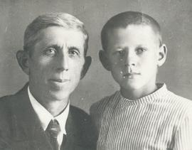 B.B. Janz and son Jacob