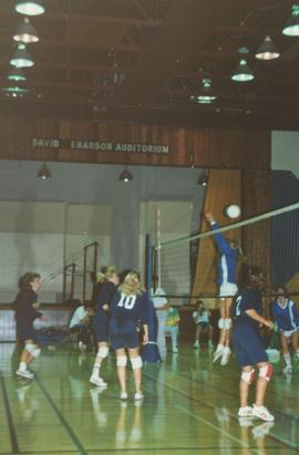 Ladies' volleyball game
