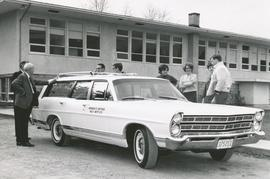 Station wagon presented by the Board