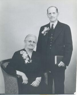 Abram Paetkau and his wife