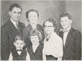 Peter and Lydia (Janz) Toews and family