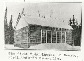 First Schoolhouse in Resor Ontario
