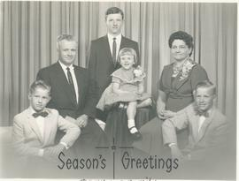 Abram H. and Frieda (Redekop) Wieler and family