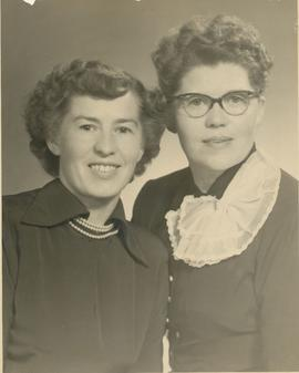 Anne (Peters) Clark and Margaret (Peters) Toews